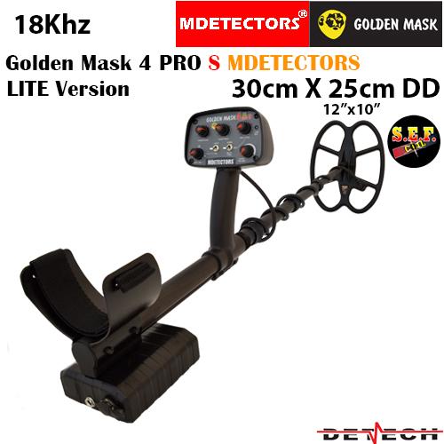 Металотърсач Golden Mask 4 PRO S LITE - без зарядно и акумулаторни батерии
